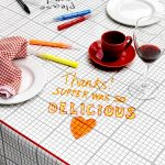 Doodle tablecloth from Stitch Designworks