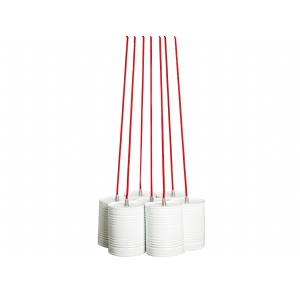 Contemporary hanging pendant lamp lighting