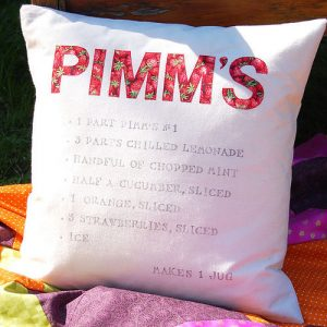 Cushion How to make a Pimms cocktail