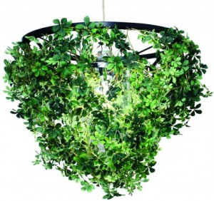 Green forest interior pendant lighting lamp