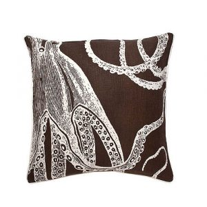Thomas Paul octopus sea life pillow