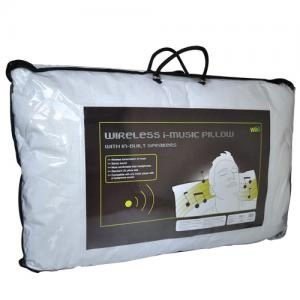 i-music mp3 home technology wireless pillow