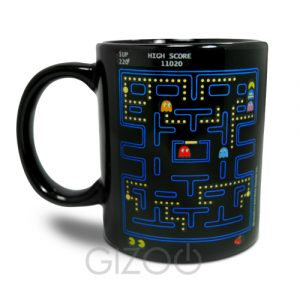 Pac Man game design homeware mug