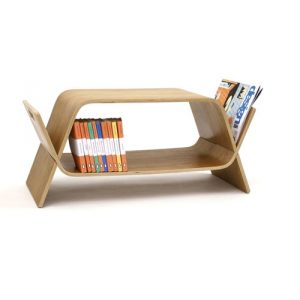 Modern home coffee table storage unit