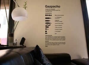 Vinyl wall decor ideas