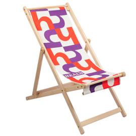 Bargain funky deckchair