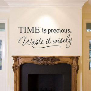 Inspirational interior design wall sticker