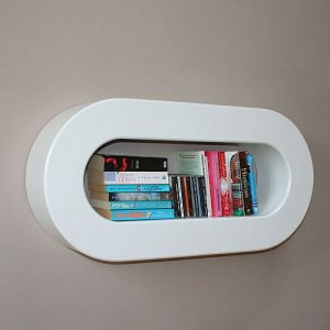 Funky modern home shelf storage unit