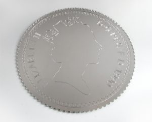 Gold or silver coin mirror for your home