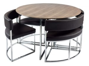 pact Orbit modern dining table set from Dwell Fresh