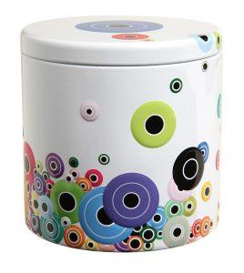 Bobbins spools storage tin