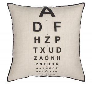 Eye test eye chart home accessories