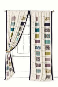 Funky curtains interior design blog ideas