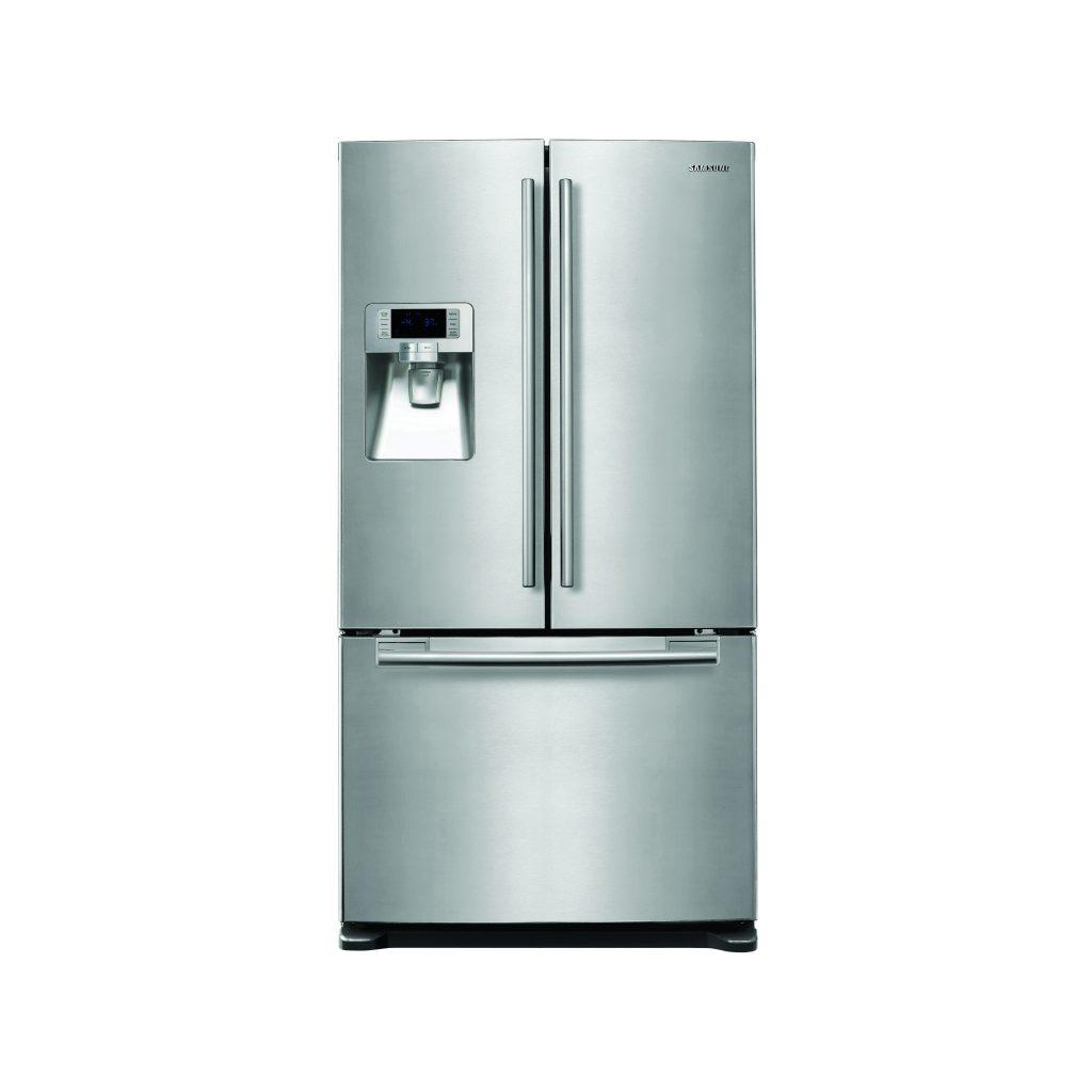 Samsung Rfg23ders G Series American Fridge Freezer In Silver