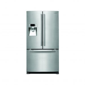 Contemporary American style fridge freezer
