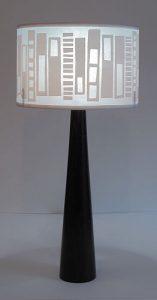 Designer handmade lampshades by Helen Rawlinson