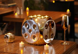 Eco contemporary candle holder