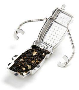 Character tea infuser robot trend
