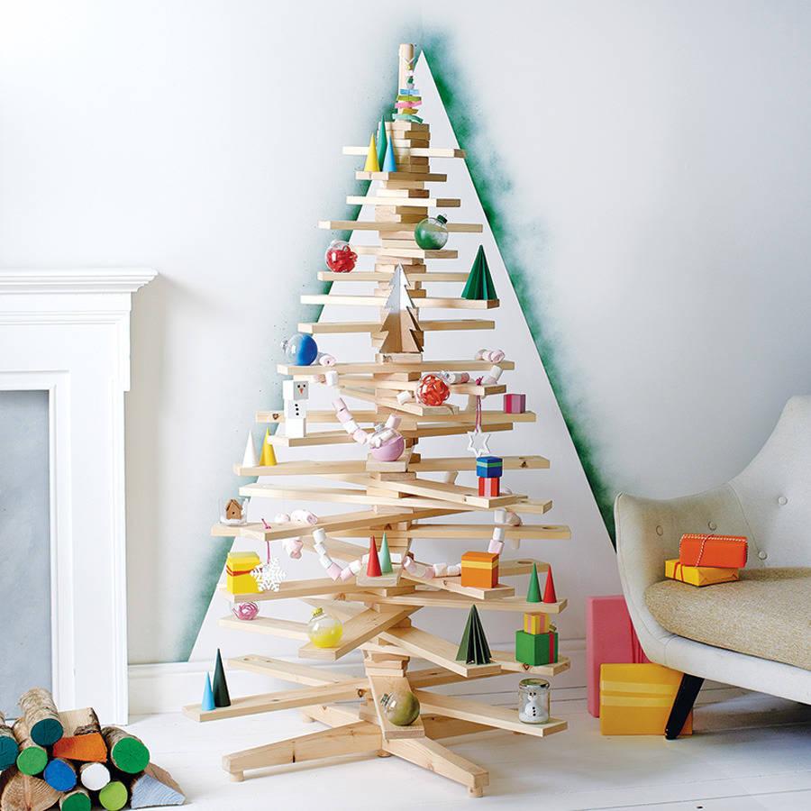 Christmas Crate Alternative Christmas Tree