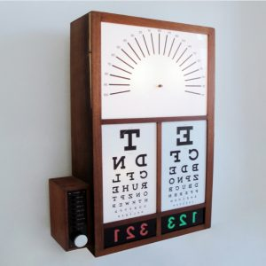 Funky eye test trend