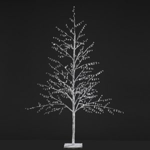 Contemporary Christmas paper tree jewel