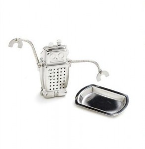 Robot tea brew infuser
