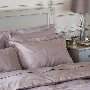 Luxury lilac purple bedding