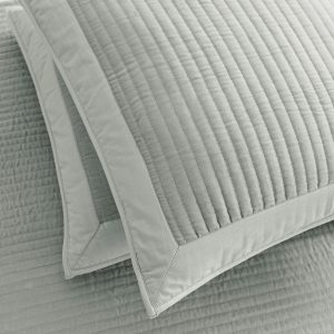 Luxurious silver grey cushion