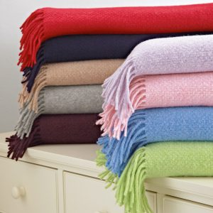 Accessorise a room with throws