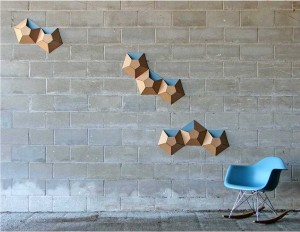 Fresh design wall decor ideas from recycled cardboard