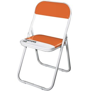 Pantone designer orange chair