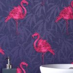 Graham and Brown flamingo wallpaper