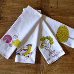 Handmade WildWood napkins by MollyMac