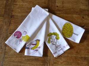 Contemporary napkins serviettes