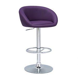 Contemporary home bar stool seat