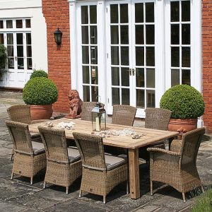 Exterior garden furniture