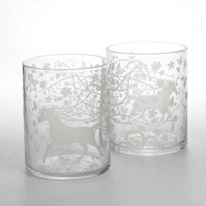 Dutch designer glassware whisky tumblers