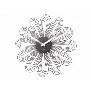 Petal wall art clock by Karlsson