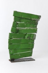 Unique contemporary sculpture radiator