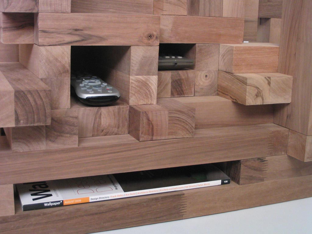 Cityscape Coffee Table Storage
