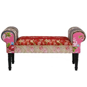 KARE Design fresh design patchwork love seat bench