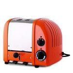 Dualit Vario two slice toaster in orange