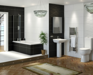 Contemporary family bathroom ideas