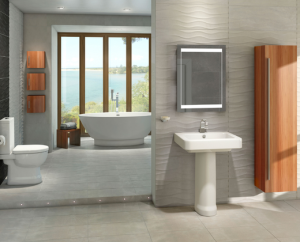 Contemporary bathroom suite ideas