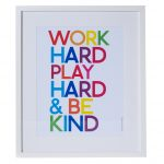 Inspirational wall art from Oliver Bonas