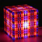 Alle Design lux lighting striped cube light