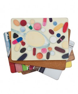 Eames contemporary placemats