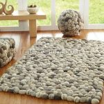 Brighton Beach contemporary felted wool rug