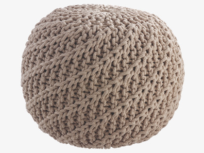 Knitting Pattern For Round Pouf : Occasional Seat Fresh Design Blog