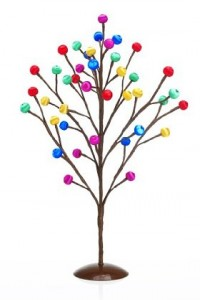 Colourful contemporary alternative Christmas decoration